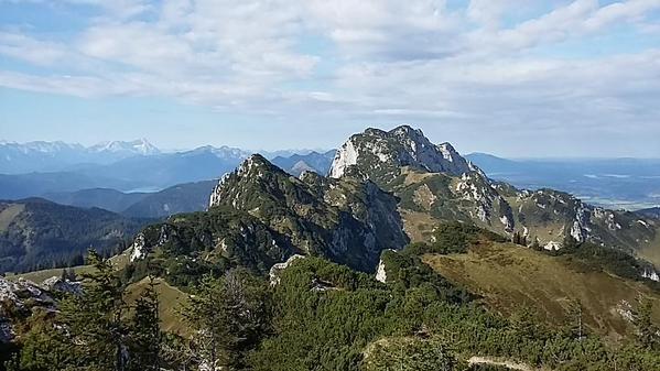 Benediktenwand (1.801m), 12. September 2015