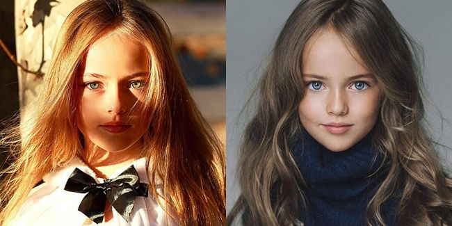Kristina Pimenova adalah gadis 10 tahun yang dikatakan sebagai gadis paling cantik sedunia. Meski ia banyak mendapat hujatan karena foto-foto beraninya, ia kini justru menjadi model ternama di Amerika Serikat.