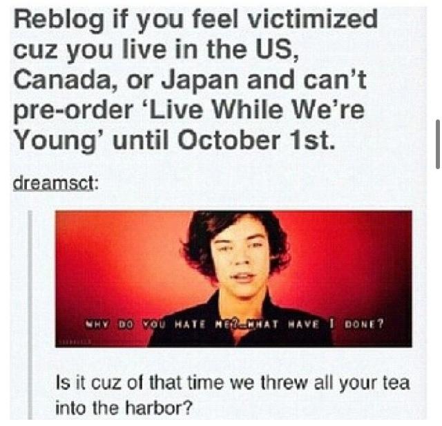 Bahahahaha history joke!! (: I'm such a nerd.
