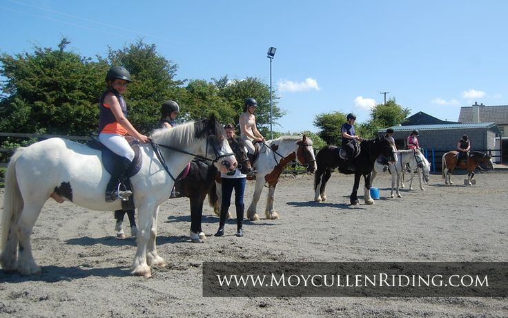 Horse riding for all at Moycullen Riding Centre