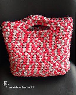 AS-kartelut: Räsylaukku #crochet #räsylaukku