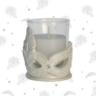 #Masquerade #Mask Candle Favor - If you are looking to make a style statement at your new party, then the Masquerade Mask candle favor should m...