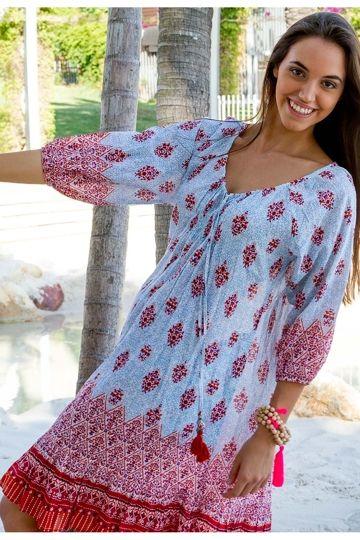 Adrift Dominica Dress - Womens Knee Length Dresses - Birdsnest Online Clothing Store