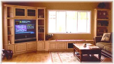 Oh my goodness. Gorgeous Built Ins! Lets flip the corners... and it would be perfect!!!