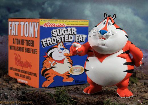 """""""Fat Tony"""" vinyl figure by Popaganda"""