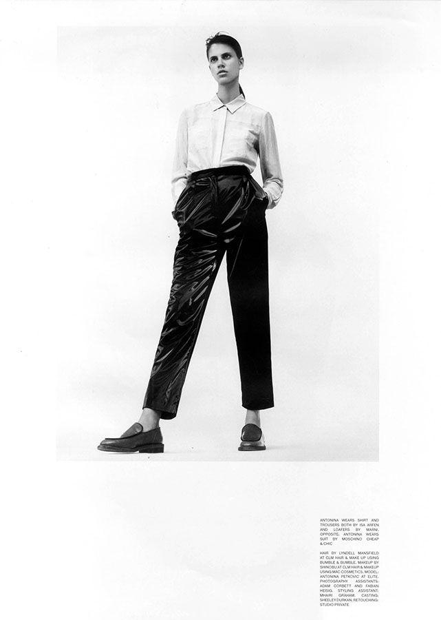 Antonina Petkovic for Ponystep, photographed by Thomas Lohr