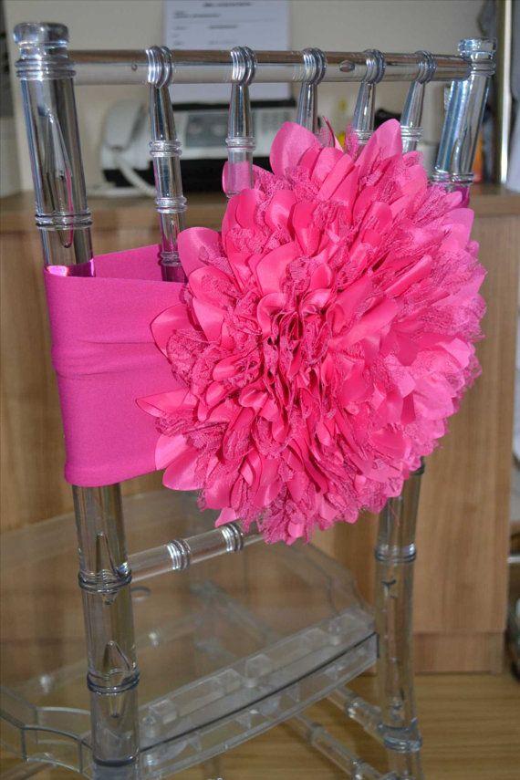 50 Flower Chair Covers Dalia Chair Cover Chiavari by ...