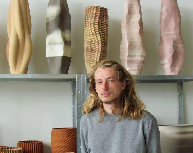 van Herpt's Incredible Ceramic 3D Printer