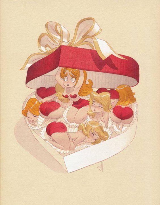 """Valentine Candy"" by Bill Presing*  • Blog/Website | (www.billpresing.blogspot.com) • Online Store | (www.billpresing.blogspot.com)"