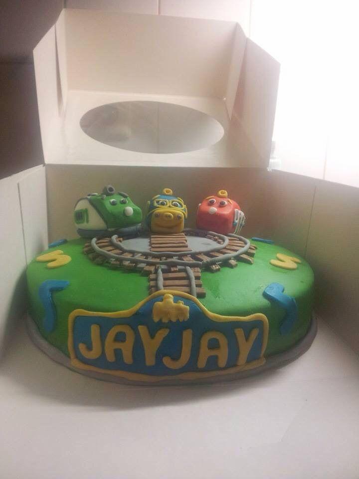 14 best Chuggington cake images on Pinterest Chuggington cake