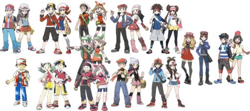 Player character - Bulbapedia, the community-driven Pokémon encyclopedia