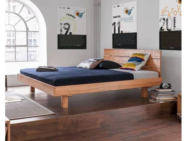 Dormiente Massivholz Bett Plain Kirschbaum 160x200 Cm In 2020