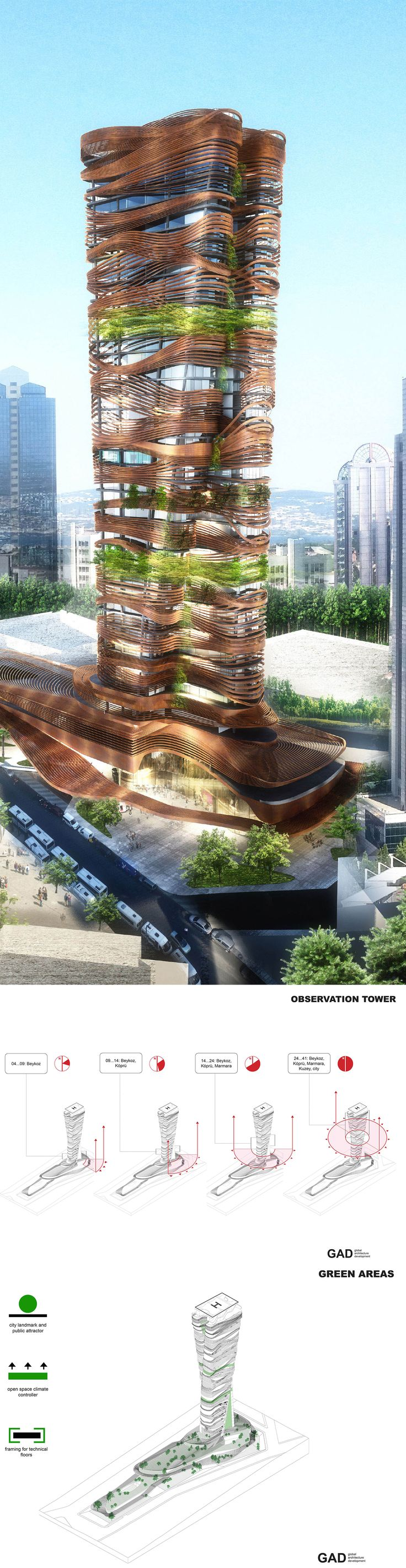 The ground and first floor comprise of the retail segment which forms the base of the design spanning the entire site and tiers upwards forming terraces for social-retail use and creates pathways that effectively carve the geometric form of the entire building. #gad #gokhan #avcioglu #architecture #architectural #plans #skyscraper #highrise #istanbul #mimar #mimarlik #urban #green #landscape #design #greenroof #masterplan #maslak #twisted #structure #render #architecturalrender #regeneration