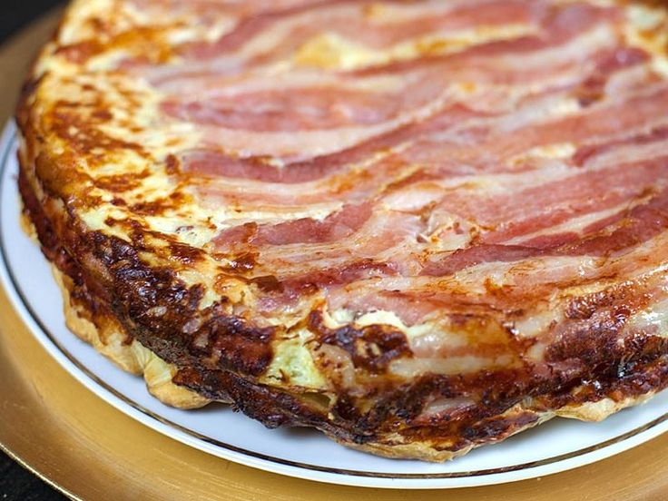 Quiche tatin au Thermomix