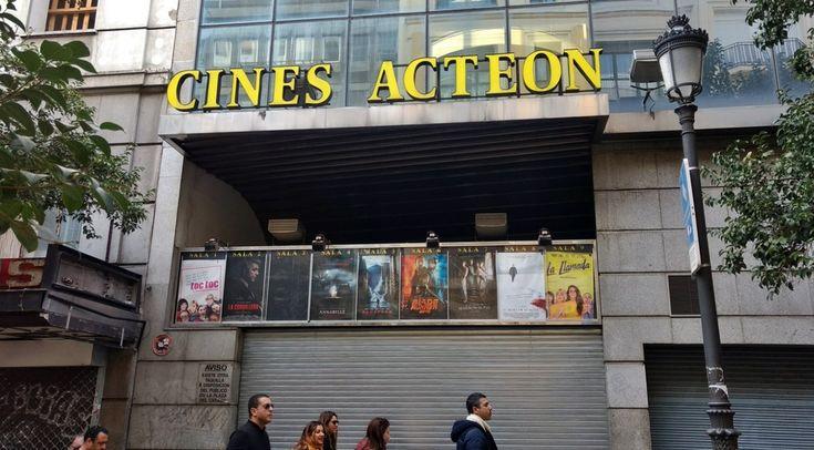- Cierran los Cines Acteón -  Adiós a una de los últimas salas de Madrid centro.