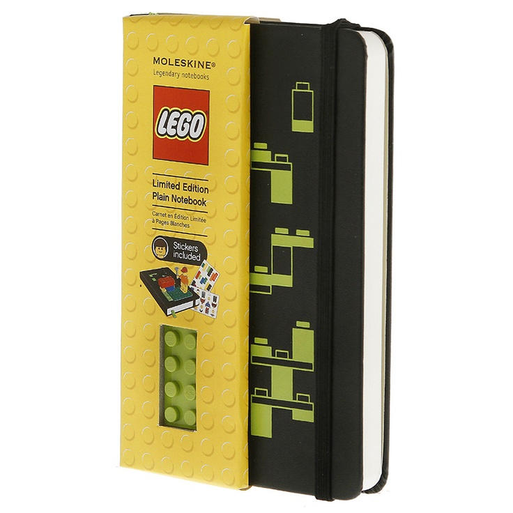 Moleskine LEGO Pocket Plain Notebook (3.5 x 5.5) $16.95