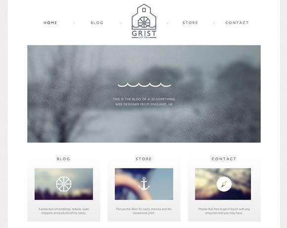 Clean, Simple Web Design [ CaptainMarketing.com ] #webdesign #online  #marketing