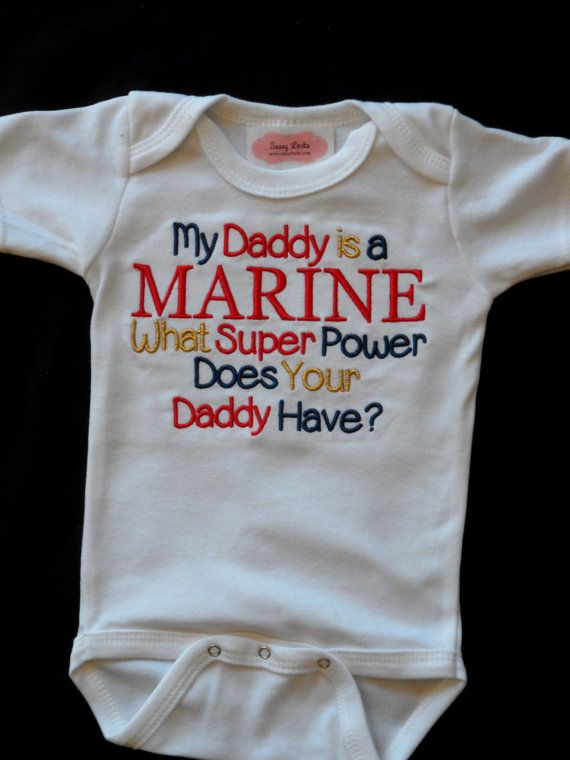 Marine Baby Boy Clothes Military Baby Clothes by LilMamas on Etsy