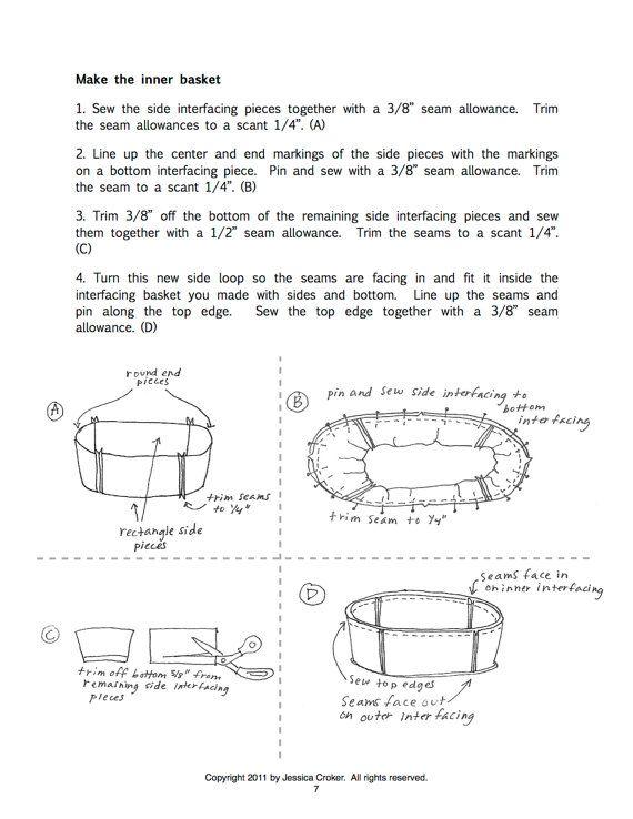 SweetPod Sleep Pod Moses Basket PDF Pattern By Seedpod On Etsy