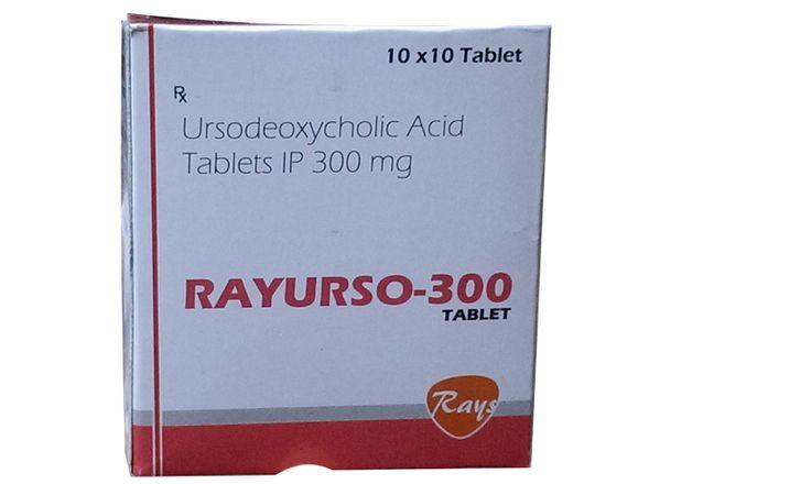 Ursodeoxycholic Acid 300 mg  #rayspharmaceuticals #rays #pharmaceuticals