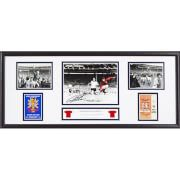 #All Star Signings Geoff Hurst Signed and Framed Storyboard #A Geoff Hurst hat-trick helped England to win the World Cup for the only time in their history, beating West Germany 4-2 in an exciting final after extra-time. The England striker remains the only man to have scored three goals in a World Cup final. Here is a 30x12 storyboard photo commemoratingEnglands 4-2 victory over West Germany in the 1966 World Cup Final. The photo was personally signed by Hero of the day Sir Geoff Hurst on…