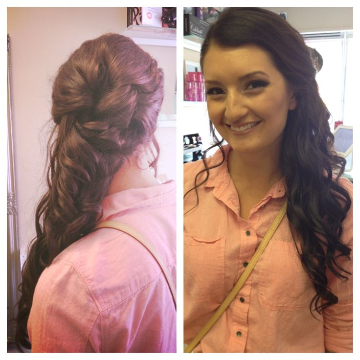 Updo for Prom #bbbeauty #bbbteam #glam #sidepony #curls www.brittanybuckhair.com