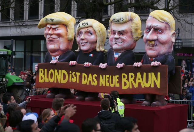 The floats at Karneval parades across southern and western Germany are known for their biting satire. This year the main target of their derision was only ever going to be one man.
