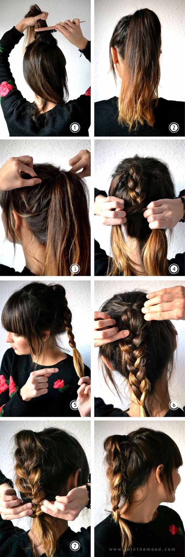 Best Hairstyles For Your 20s -Messy Braid Ponytail- Hair Dos And Don'ts For Yo...