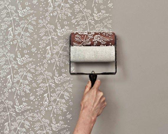 I rulli decorativi di The Painted House - by hugsandviolence.blogspot.it