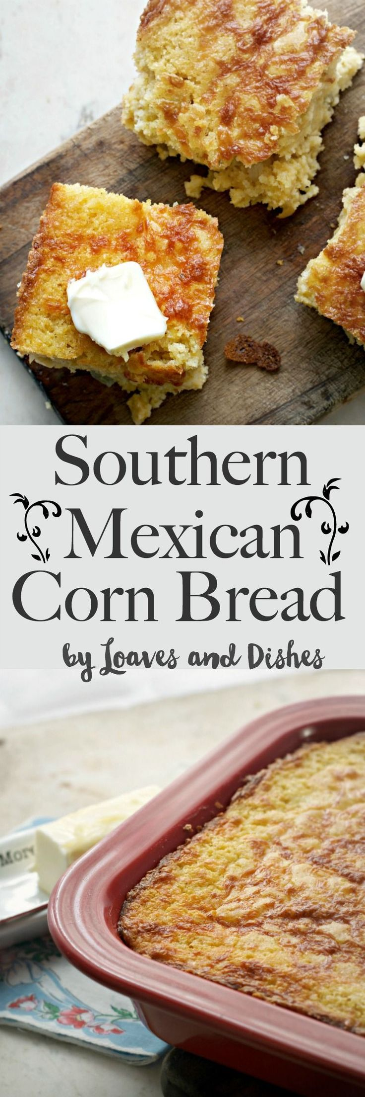 This mexican cornbread is so southern that it screams Ya'll! Ready in a Jiffy. Easy. homemade. Like the Pioneer woman makes, only better.