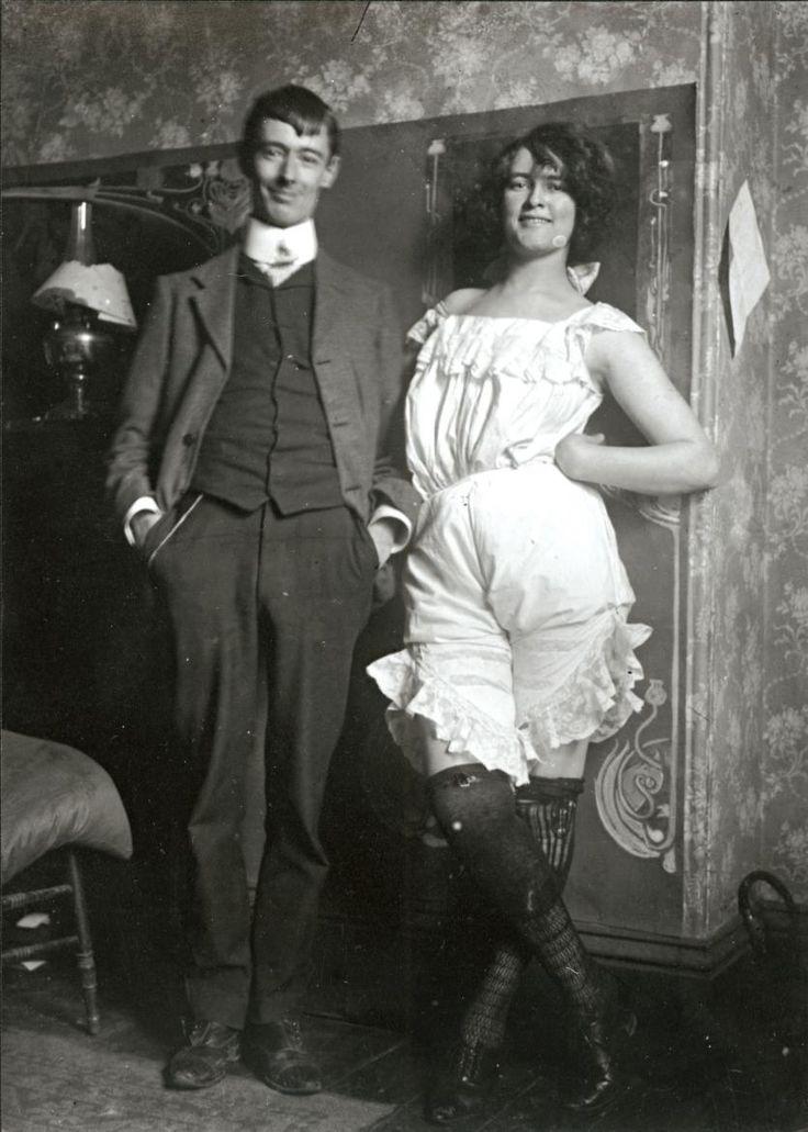 Norman Lindsay and Rose Soady Bond Street Studio 1909