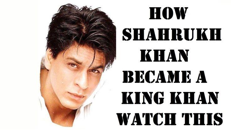 HOW SHAHRUKH KHAN BECAME A KING KHAN#शाहरुख़ खान कैसे बने  किंग खान देखो  #