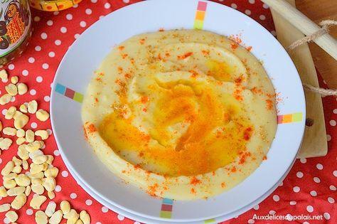Bissara purée de fèves de Choumicha; Bissara purée de fèves ou bissara foul à la marocaine, une onctueuse soupe berbère mijotée et bien parfumée au cumin,
