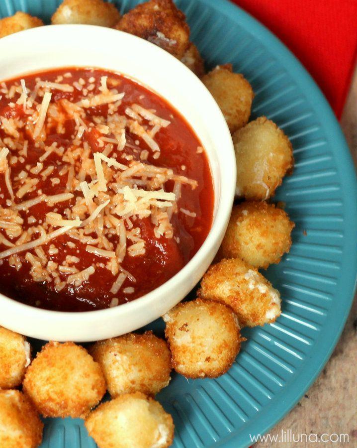 Delicious Mozzarella Balls Appetizer