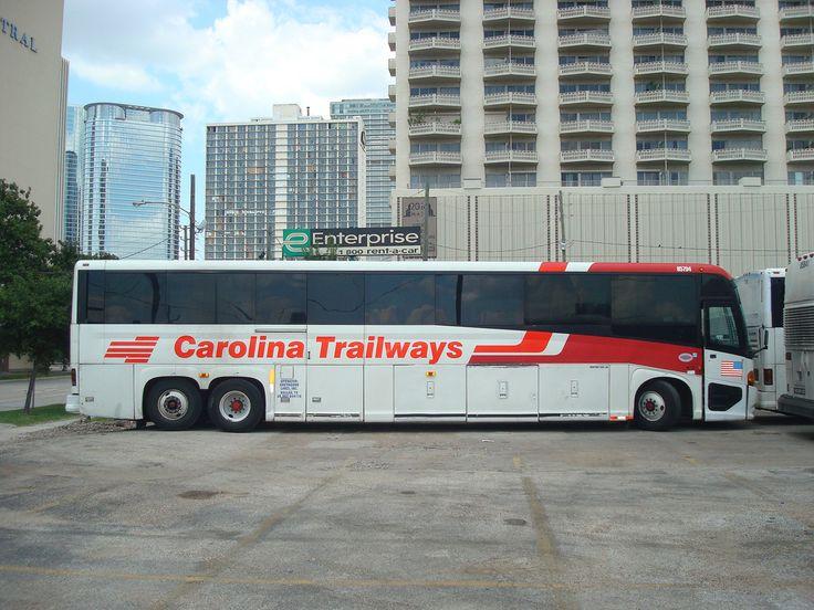 Carolina trailways greyhound 85794 mci greyhound