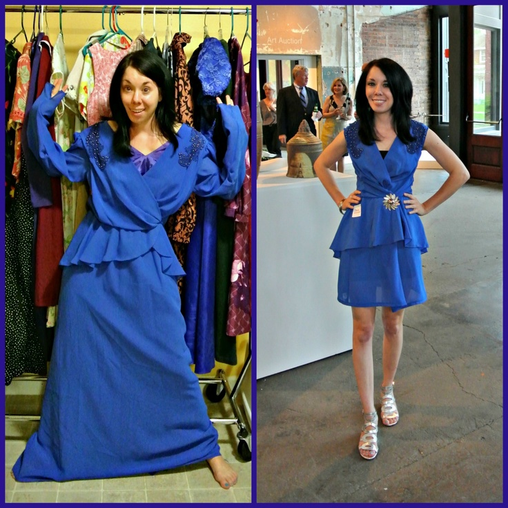 Refashionista - Great blog site where she takes things bought at goodwill/thrift shops and repurposes them, so much cuter to boot!