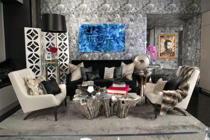 7 Sophisticated Modern Sofas In Ovadia Design Interiors | Living Room Set. Black Sofa. Velvet Sofa. #velvetsofa #blacksofa #modernsofas Read more: http://modernsofas.eu/2016/12/05/sophisticated-modern-sofas-ovadia-design-interiors/