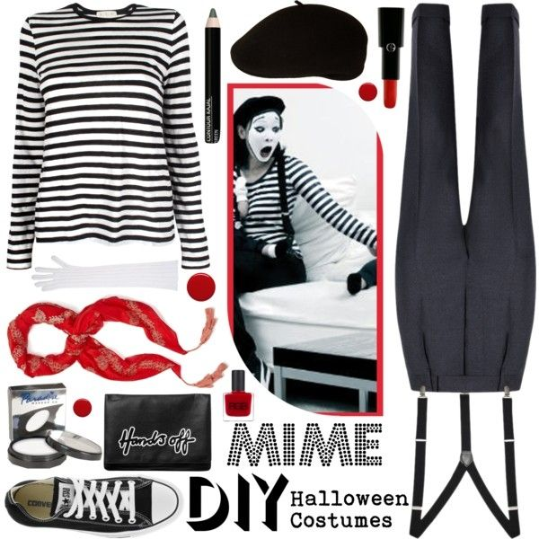 French Mime Costume Diy: 18 Best Mime Costumes Images On Pinterest