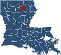 Ouachita Parish in Louisiana