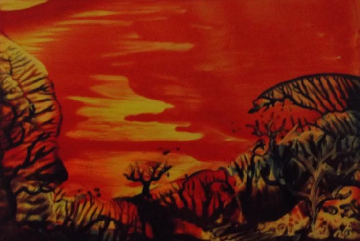 original encaustic painting Patty chapman Waxdreams