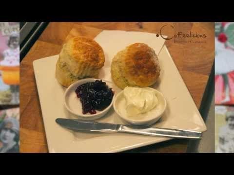 Coffeelicious Chefkok Joan Buitenhuis geeft origineel recept om echte Scones te maken!