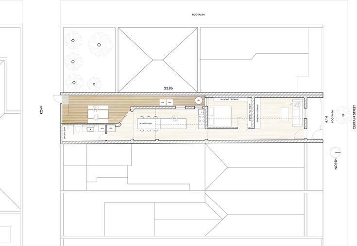 Curtain Cottage,Floor Plan