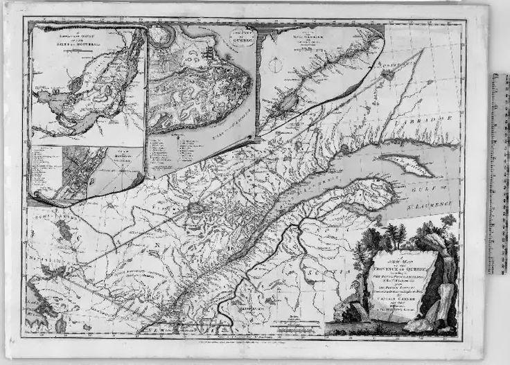 Mappy Monday: Royal Proclamation of 1763 #geneabloggers #genealogy