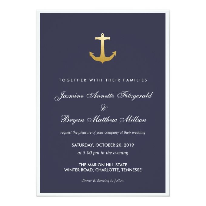 2566 best nautical wedding invitations images on pinterest, Wedding invitations
