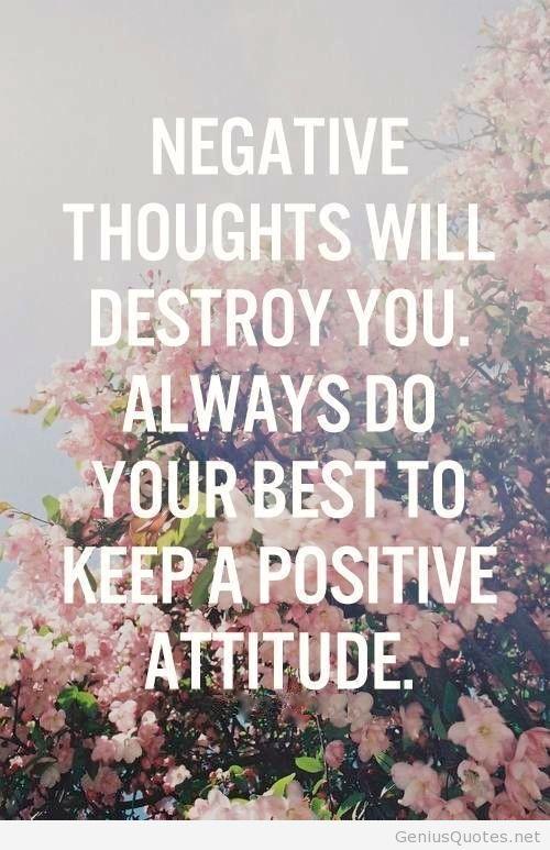 25+ Best Good Attitude Quotes On Pinterest