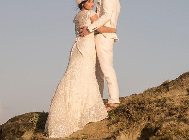 Fishtail Wedding Dresses Second Hand : Bohemian beach wedding dress amy adams and dresses