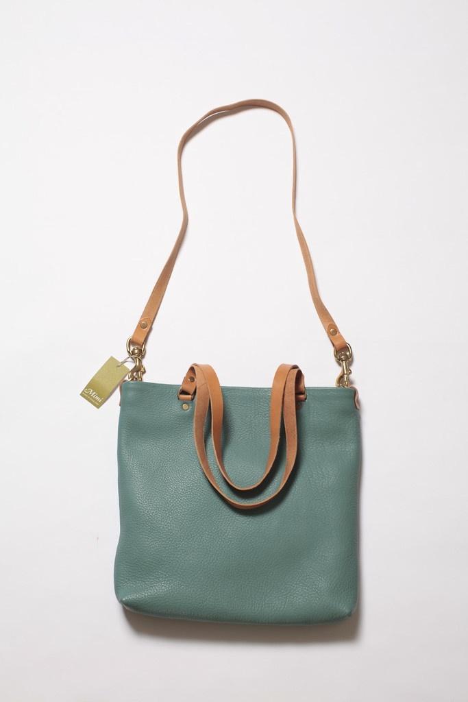 "Aqua ""Spike"" bag - Mimiberry"
