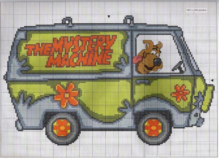Sandrinha Cross Stitch: Scooby Doo