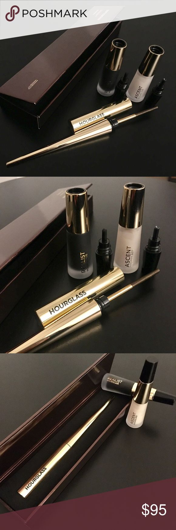 Hourglass Curator Lash Tool  + Primer and Mascara The Lash Artist - the Curator® Lash Instrument is designed to give you a full 360° range to evenly coat each and every lash from base to tip, creating beautifully defined lashes from any angle. This unique