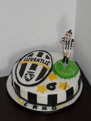 Le Delizie di Ve: JUVENTUS CAKE- VIDAL-